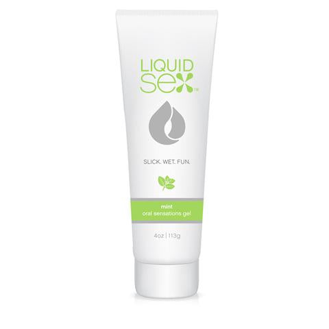 Liquid Sex Oral Sex Gel Mint 4 Oz.
