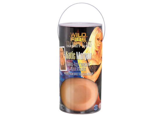 Wildfire Celebrity Series Katie Morgan Cyberskin Travel Size Pussy Stroker