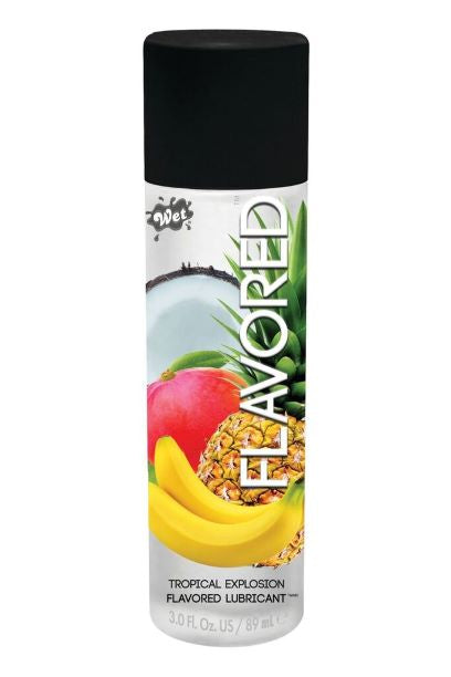 Wet Flavored Tropical Explosion 3 Oz.