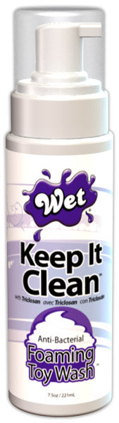 Wet Keep It Clean Toy Wash 7.5 Oz.
