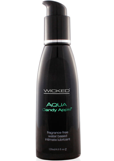 Wicked Aqua Candy Apple Lube 4 Oz.