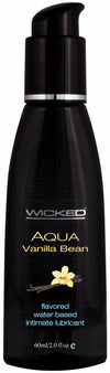 Wicked Aqua Vanilla Bean Lube 2 Oz.