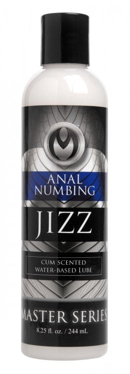 Master Series Jizz Anal Desensitizing Lube 8 Oz.