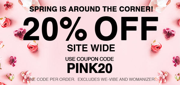 20% Off Site Wide - Use Code PINK20