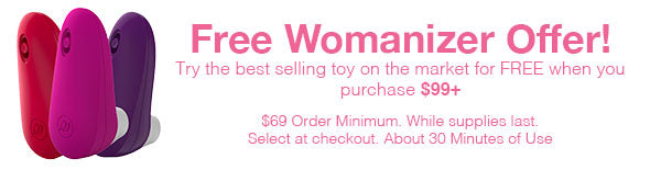 Free Womanizer On Orders Over $99! Select At Checkout
