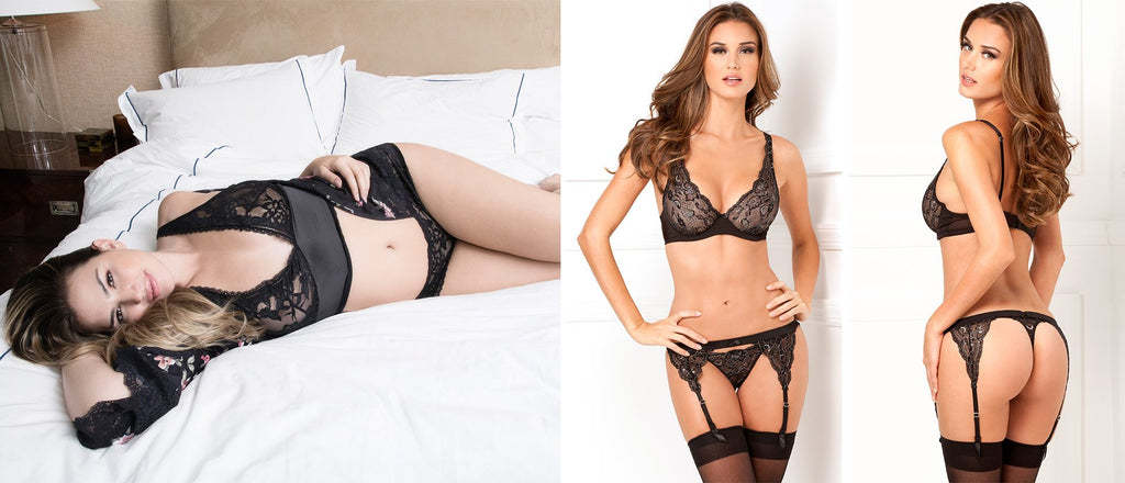 Sexy black lace bras and bralettes are one of the most popular types of lingerie