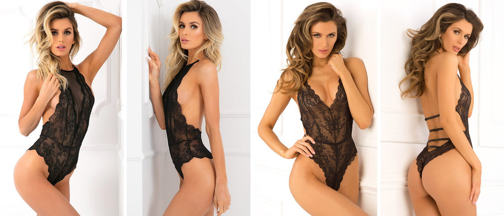 Ultra hot teddy lingerie styles being modelled