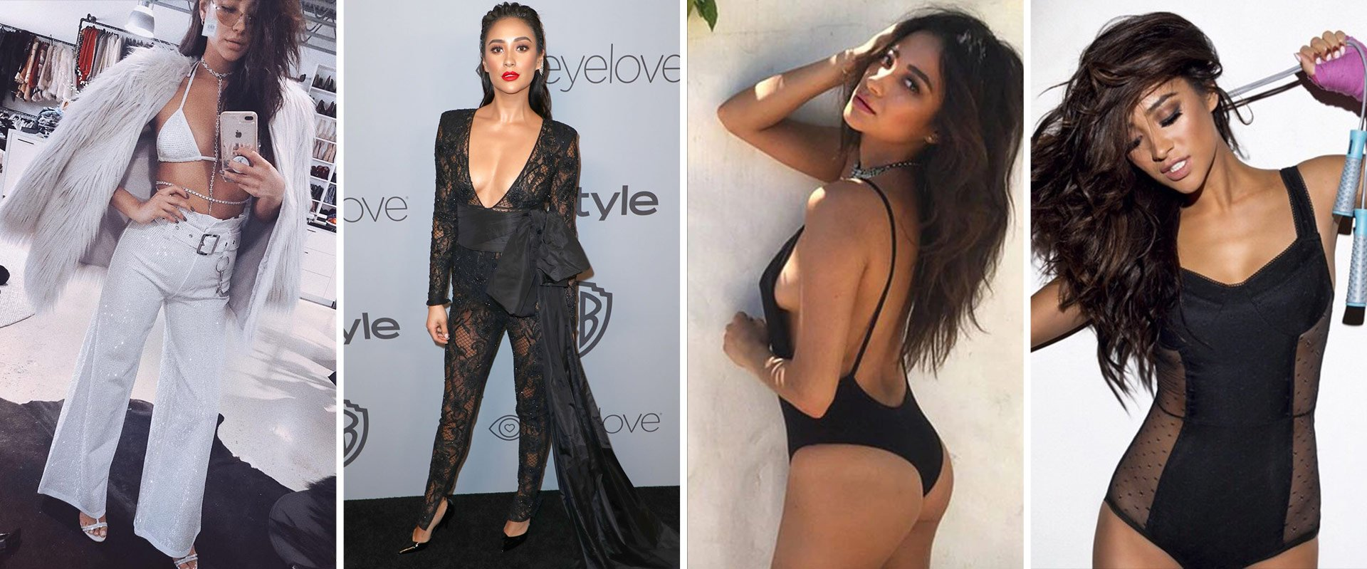 Shay Mitchell shows us how to make lingerie and swimsuits part of our daily style