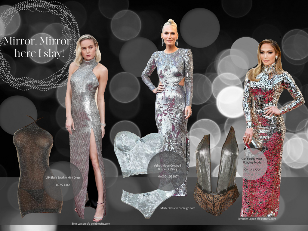 Sexy shiny silver was another popular trend at the Oscars