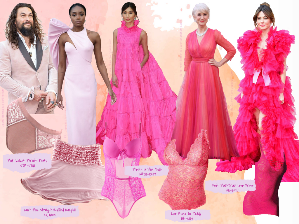Pink was all the rage at this years Oscar's award gala