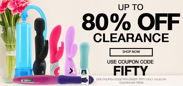 Sex Toy Store Online - Up To 80% Off Clearance - Use Code FIFTY