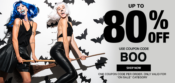 Up To 80% Off Sex Toys! Use Code BOO!