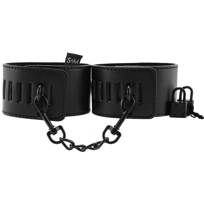 Sex & Mischief Shadow Locking Cuffs