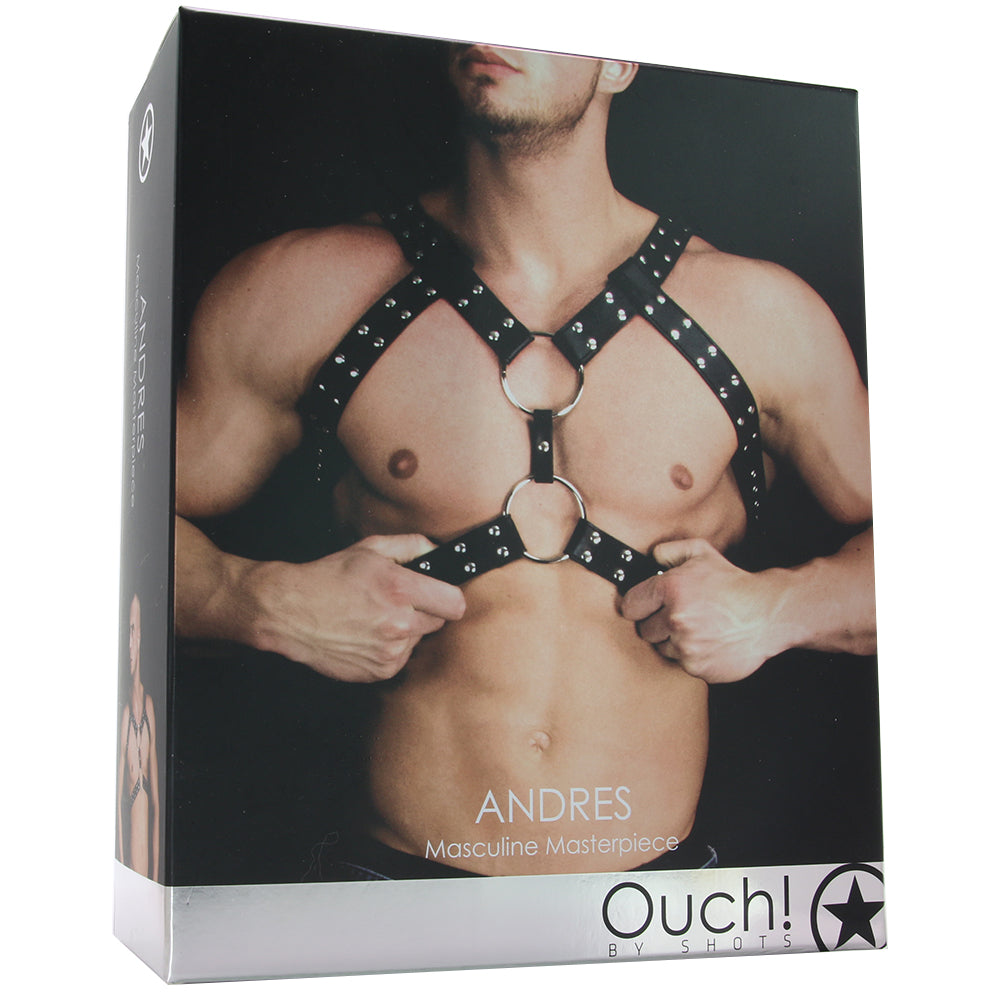Andres Masculine Masterpiece Upper Body Harness