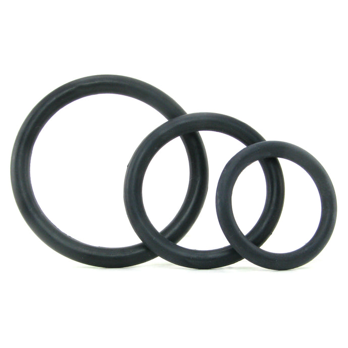 Tri-Rings Cock Ring Set