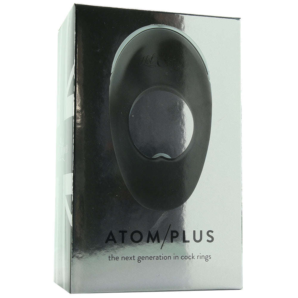 Atom Plus Vibrating Silicone Cock Ring