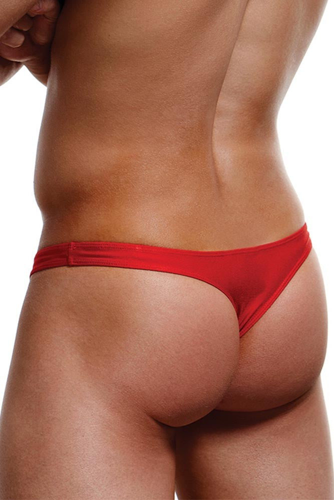 Red Low Rise Thong