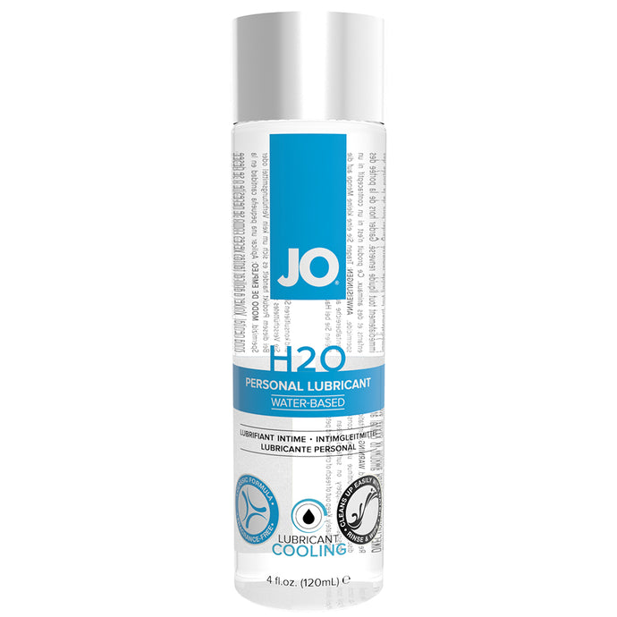 H2O Cool Water Based Personal Lubricant