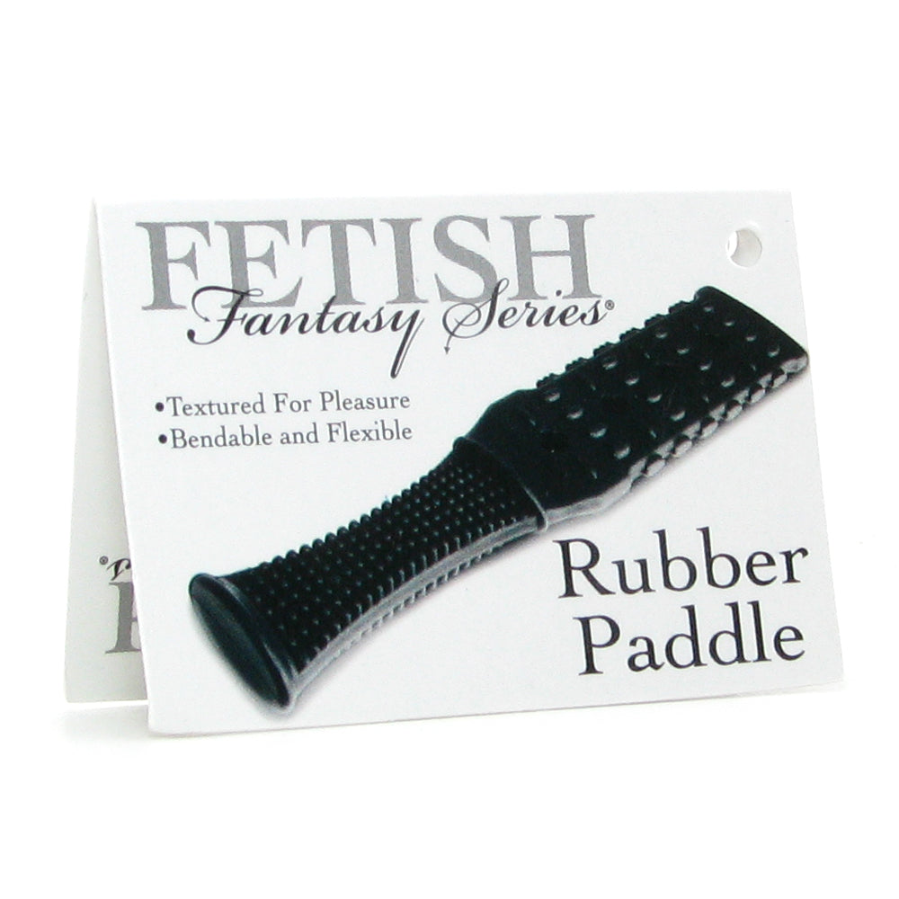 Fetish Fantasy Textured Rubber Paddle