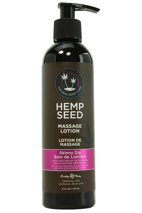 Hemp Seed Massage Lotion 8oz/237ml