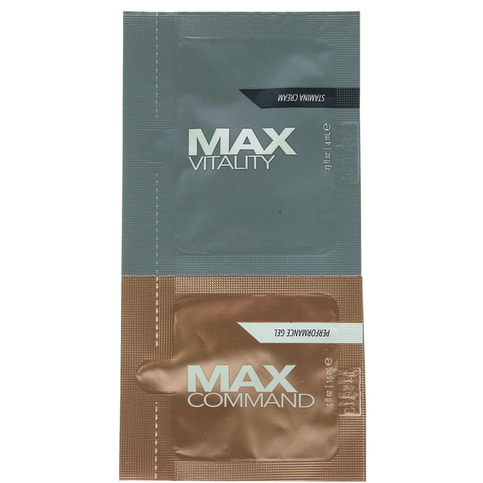 MAX Vitality Treatment Cream & Command Gel Duo