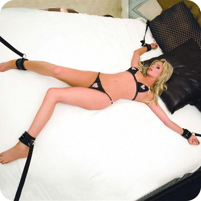 7 Piece Bed Spreader Restraint System