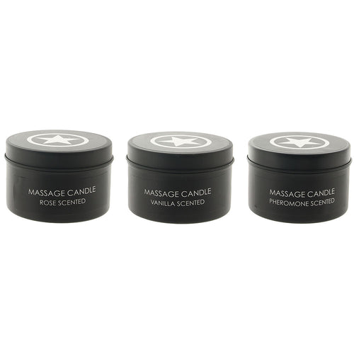 Ouch! Massage Candle Set 3-Pack