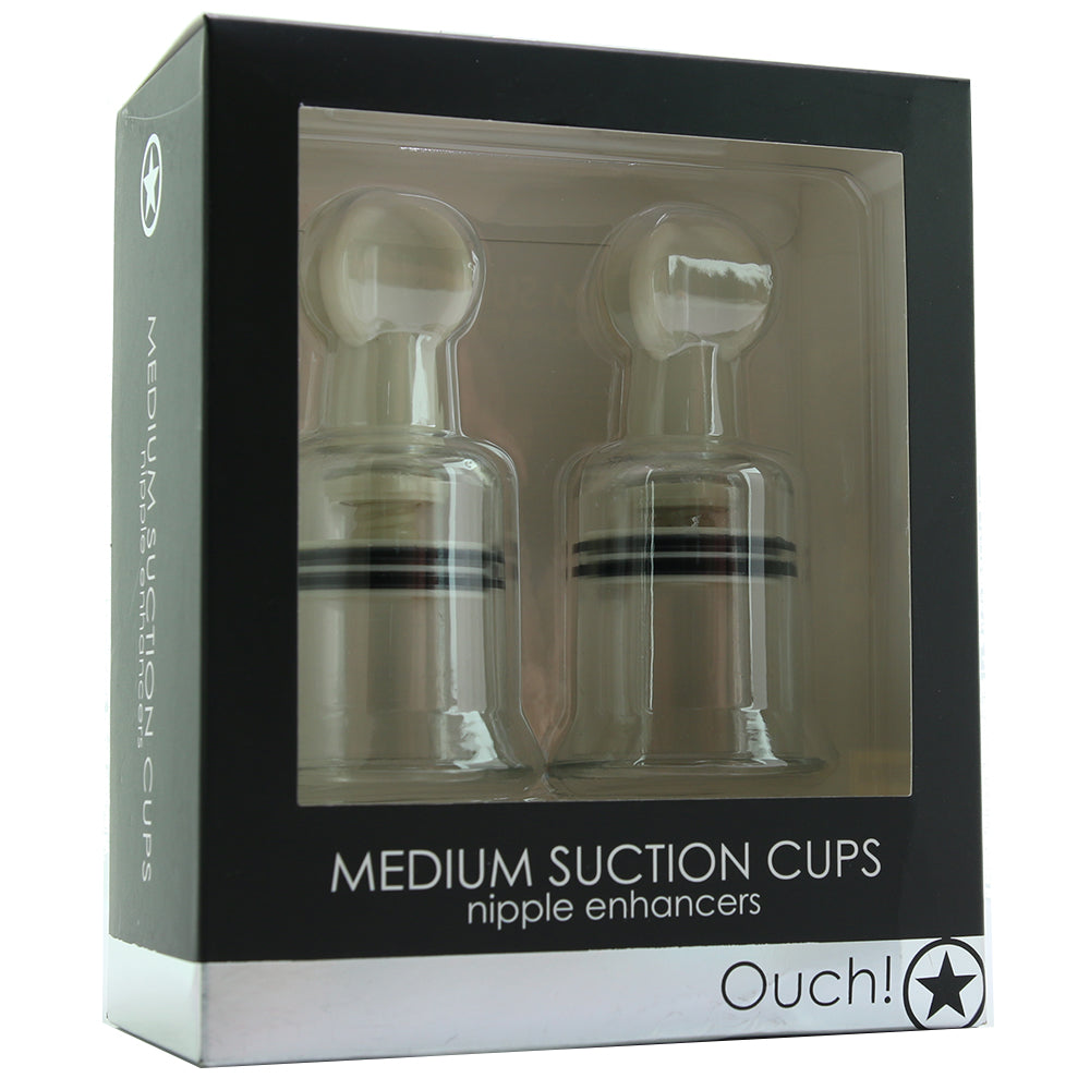 Ouch! Medium Suction Cup Nipple Enhancers