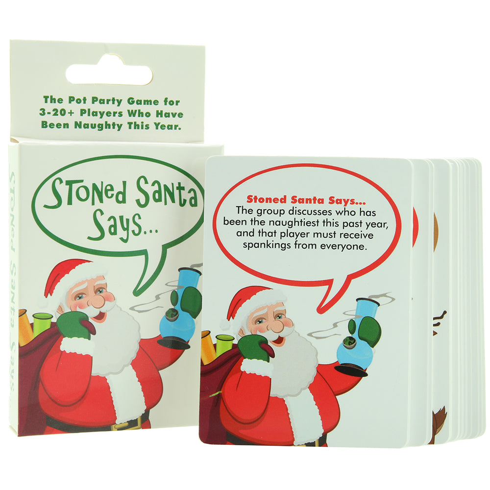 Stoned Santa Says... Party Game