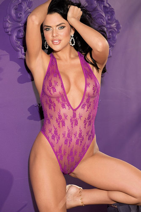 Stretch Lace Teddy