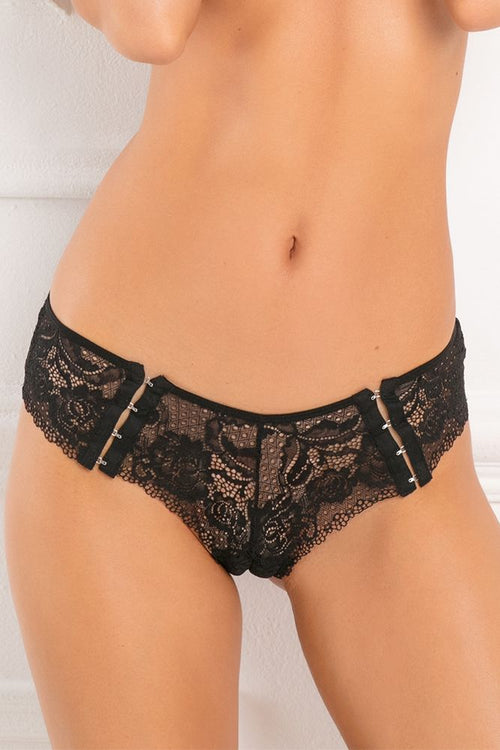 Hot Hook Up Crotchless Panty