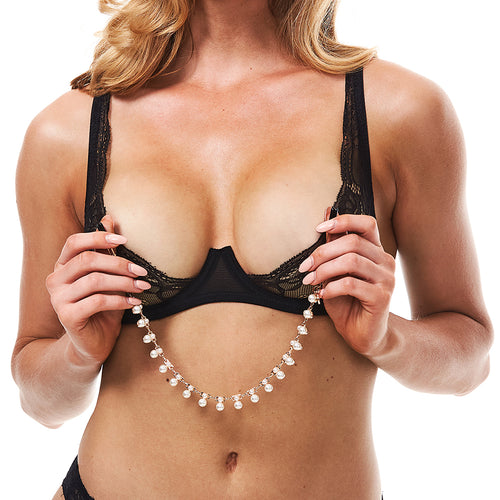 Secret Kisses Pretty In Pearls Nipple Clips