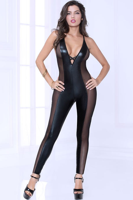 Lamé and Ignite Jumpsuit