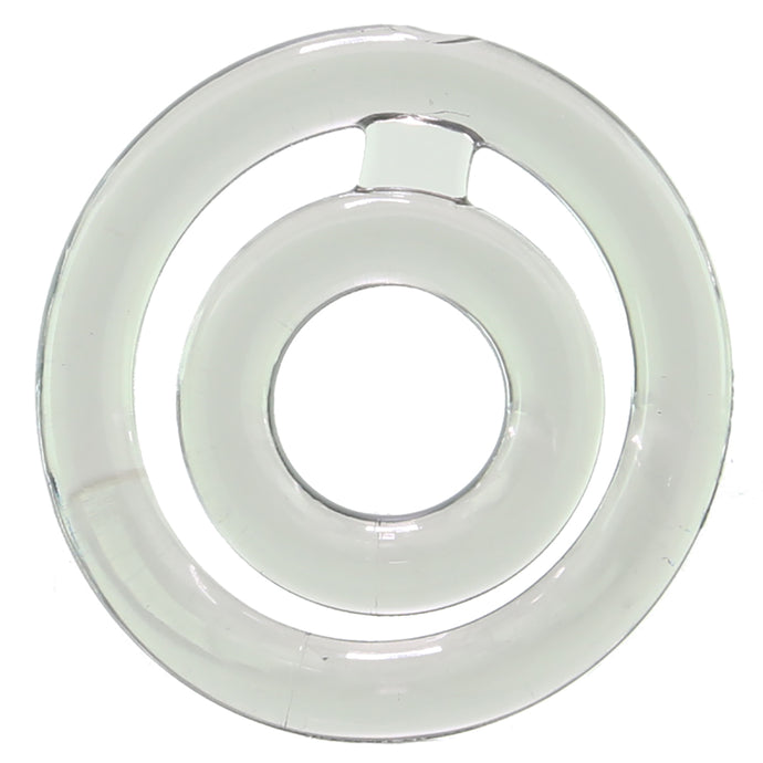 Bullseye Double Loop Cock Ring