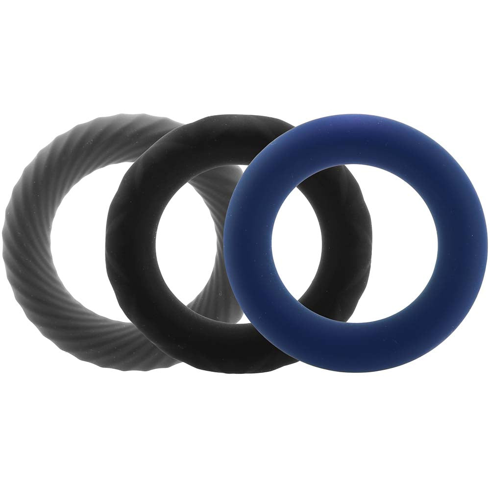 Link Up Ultra-Soft Extreme Cock Ring Set