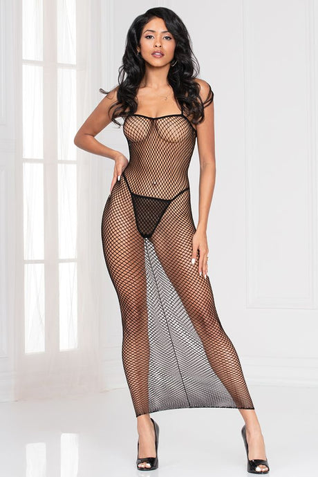Cleo's Fishnet Dress