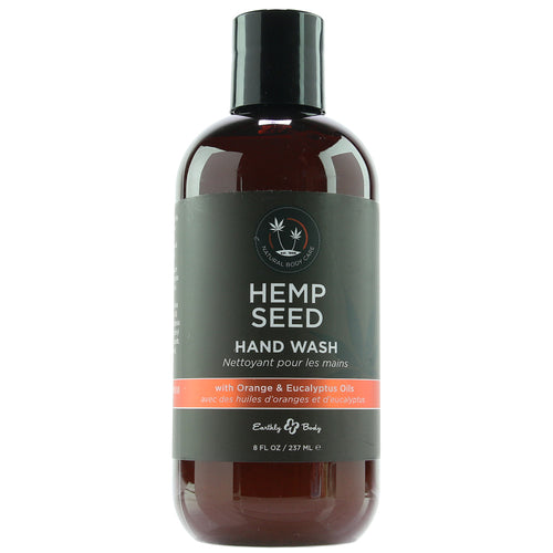 Hemp Seed Hand Wash with Orange & Eucalyptus 8floz./ 237ml