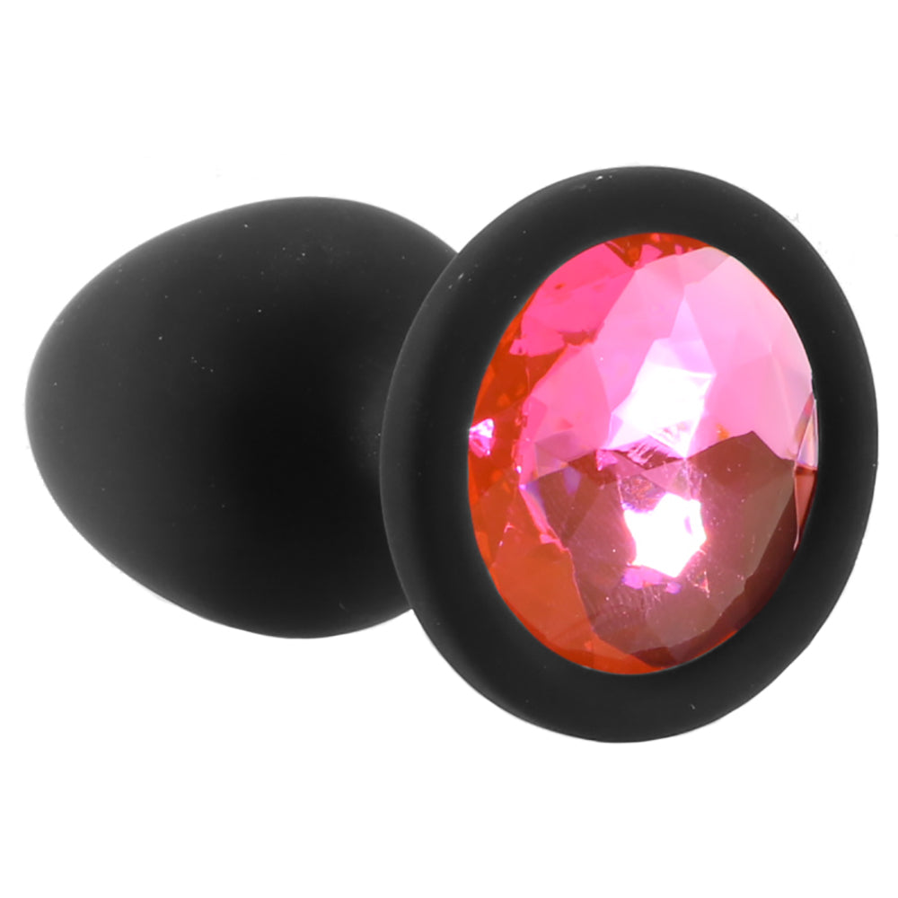 Booty Bling Small Jeweled Silicone Plug  Doc Johnson Butt -8853