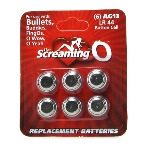 AG13 / LR44 Replacement Batteries 6 Pack