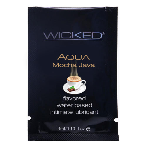 Aqua Flavored Lube .10oz/3ml