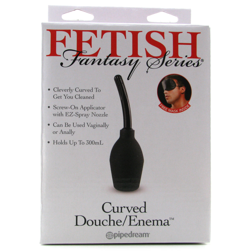 Fetish Fantasy Curved Douche / Enema