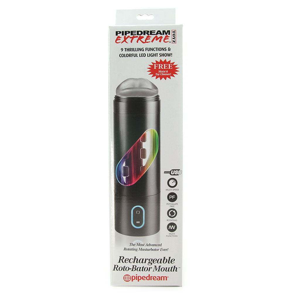 Extreme Rechargeable Roto-Bator Mouth
