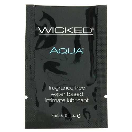 Aqua Lube .10oz/3ml