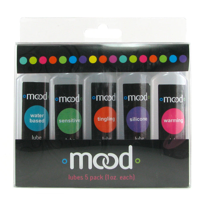 Mood Lubricant Sampler Assorted 5 Pack