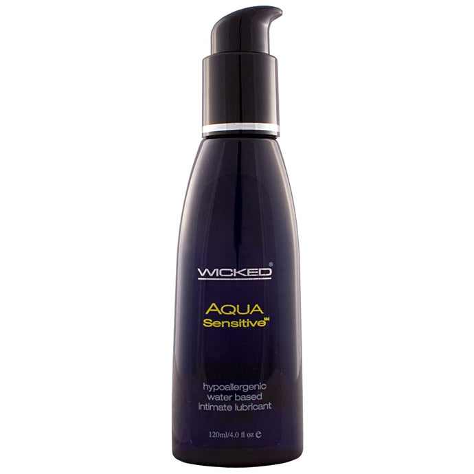 Aqua Sensitive Lubricant 4oz/120ml