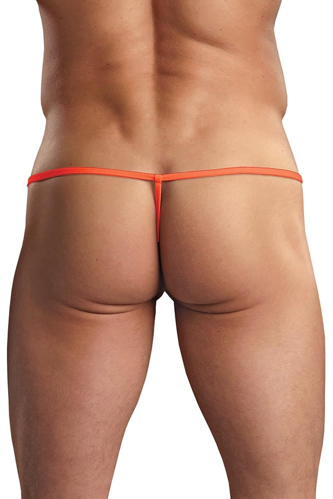 Orange Euro Male Pouch G-String