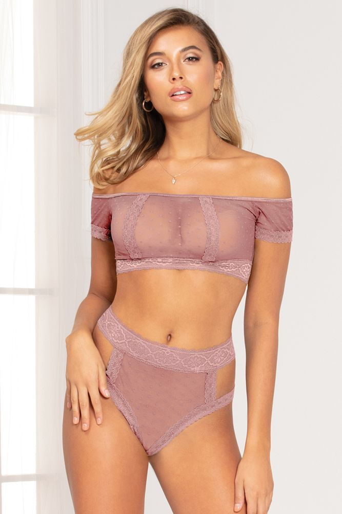Bandeau Huntress 2pc Lilac Set