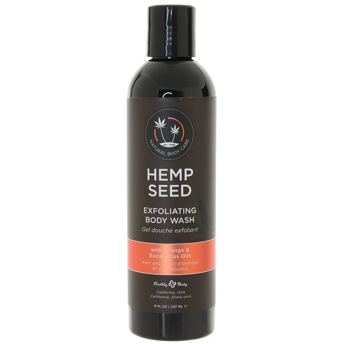 Hemp Seed Exfoliating Body Wash 8oz/237ml