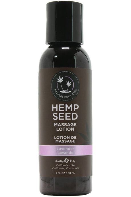 Hemp Seed Massage Lotion 2oz/60ml