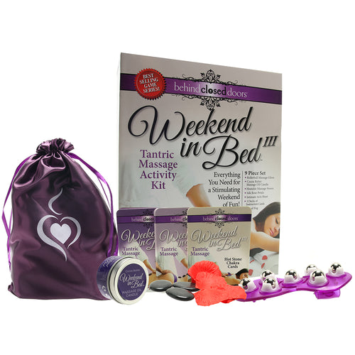 Weekend in Bed 3 Tantric Massage Activity Kit